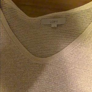 LOFT Sweaters - Loft Sweater 3/4 sleeve perfect condition